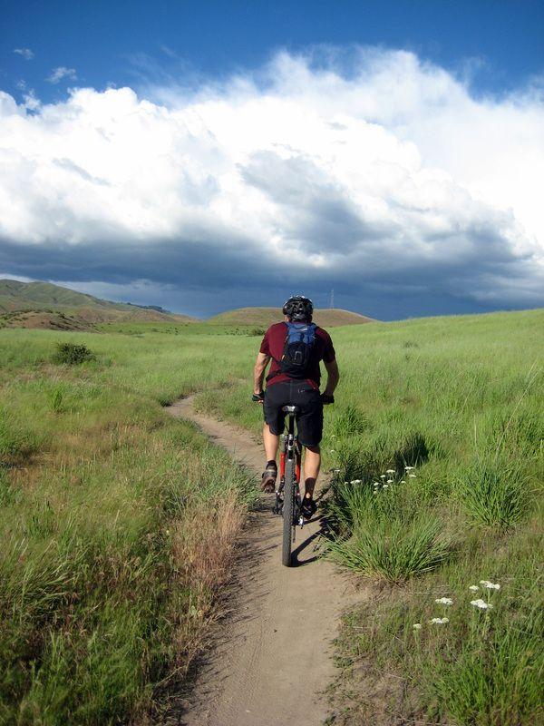 Usando la bicicleta también emitimos CO2