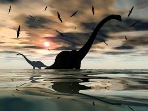 El gas metano (ventosidades) de los grandes dinosaurios calentaron la tierra hace 150 millones de años
