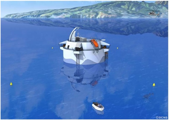 Ocean Thermal Conversion (OTEC), energy sources of the future.