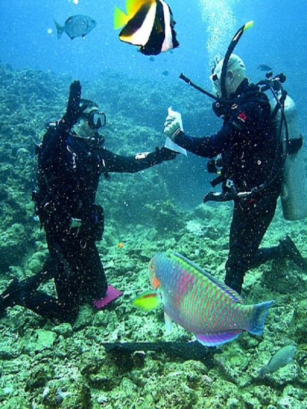 Primera ruta europea subacuática
