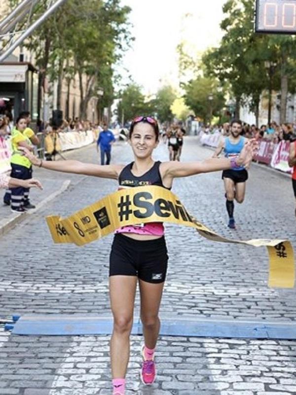 Los escolares cobran protagonismo en la carrera popular del parque María Luisa del circuito #Sevilla10