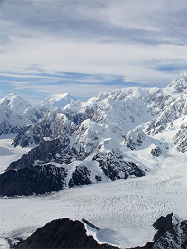 Alaska, sus montañas se quedan sin hielo