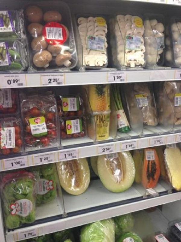 Cuando eliminarán los supermercados el plástico de las verduras?
