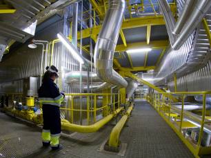 La caldera de la nueva planta de Ence en Huelva para transformar biomasa en energía renovable se fabricará en Chiclana