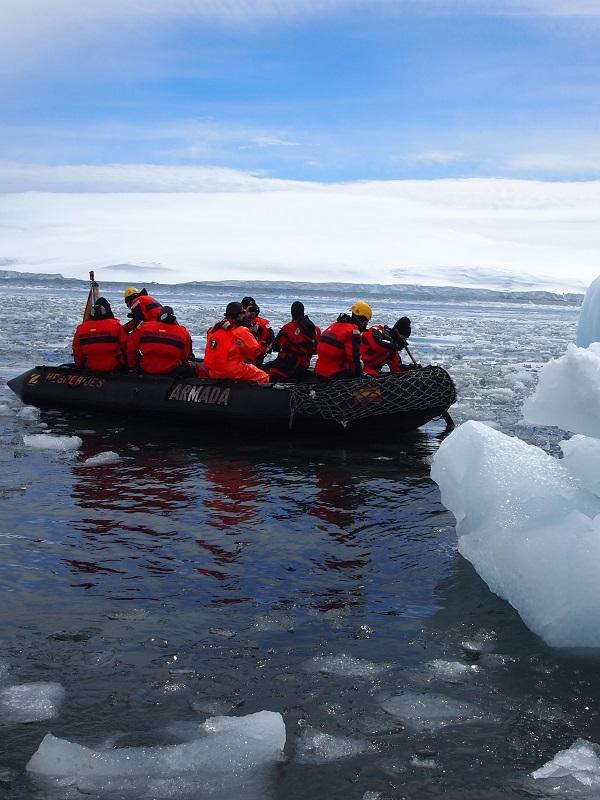 Buscando financiación para la primera campaña antártica con cero emisiones