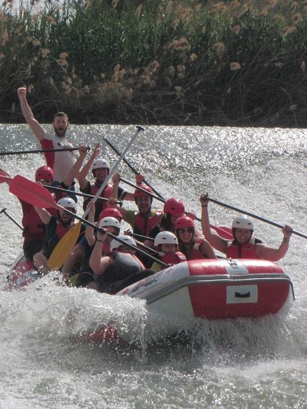 Escalada, rafting o deportes náuticos multiaventura, en nueva programación del programa Redes del Consistorio murciano