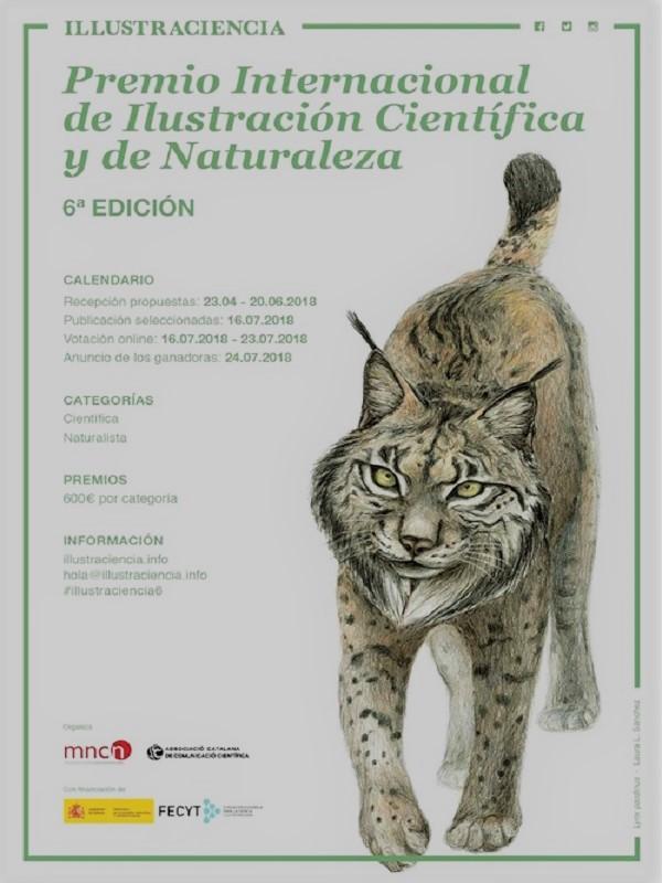 VI Premio Internacional de Ilustración Científica y de Naturaleza