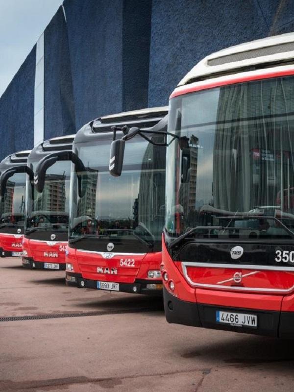 Transports Metropolitans de Barcelona (TMB) apuesta por autobuses híbridos, eléctricos y de gas natural