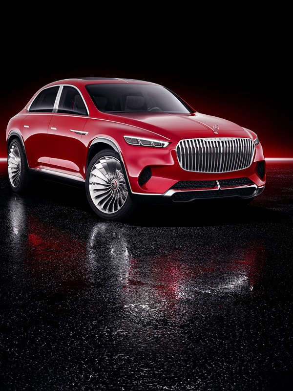 ELECTRICO Vision Mercedes-Maybach Ultimate Luxury, tremendo