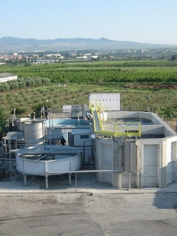 Proyecto de saneamiento de agua en Moguer, La Palma del Condado y Beas-San Juan del Puerto-Trigueros (Huelva)