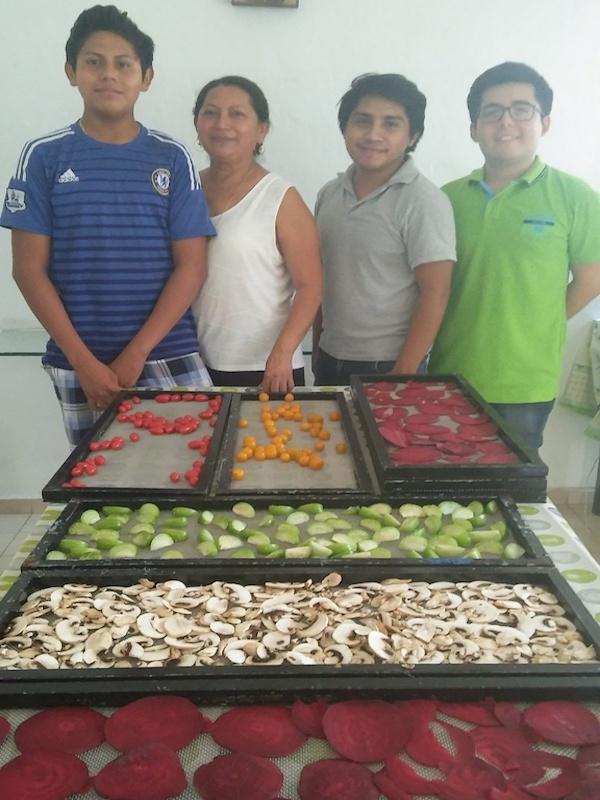Tecnología mexicana para el secado de alimentos