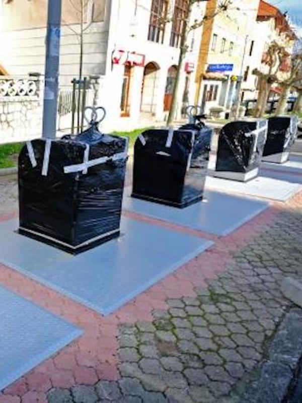 Implementan un centenar de contenedores soterrados en Santander