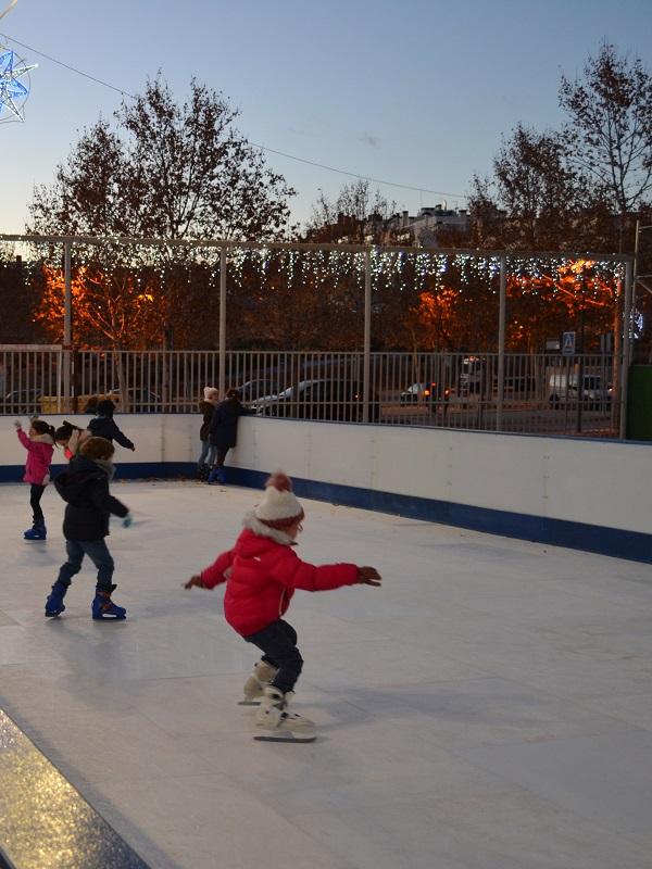 Bilbaogabonak ofrece una pista de hielo ecológico