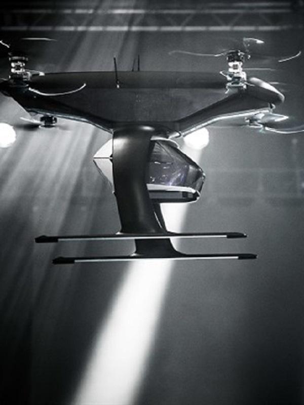 Audi prueba un prototipo de su taxi aéreo eléctrico