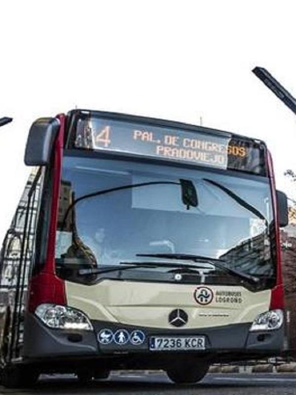 Logroño incorpora cuatro autobuses híbridos para ofrecer un servicio más ecológico y resoponsable a sus habitantes