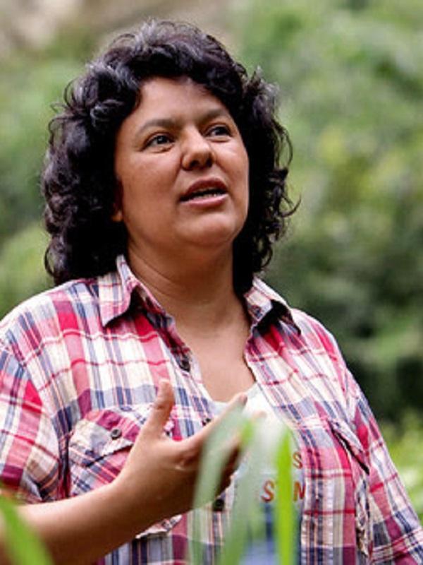 Juicio por el asesinato de Berta Cáceres