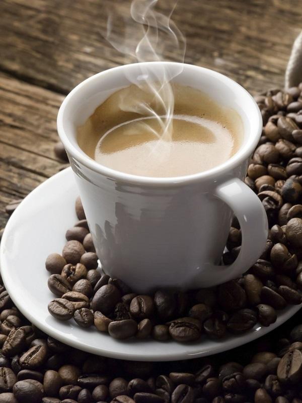 Vive más, tomando café
