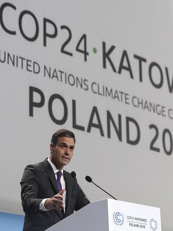 Cinco bancos se comprometen con la financiación sostenible en la COP24