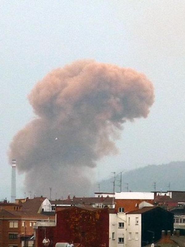 Tras otra noche horrorosa de contaminación sigue fuera de rango la calidad del aire de Gijón