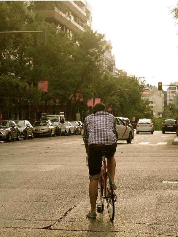 Casi un 50% de los traslados en coche se podrían hacer andando o en bicicleta