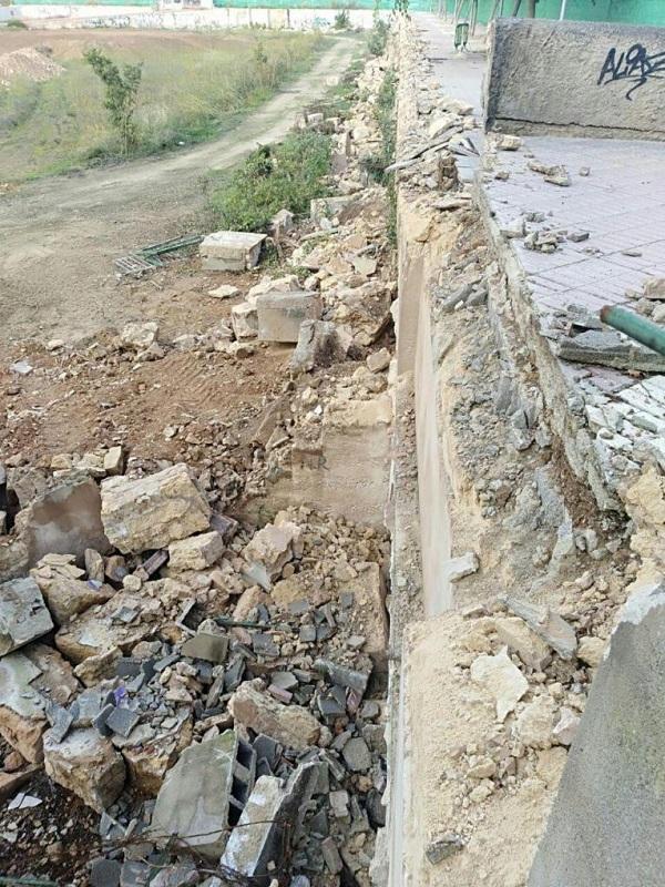 Denuncian ante la Fiscalía de Medio Ambiente por escombros sin tratar en las obras del canódromo de Palma de Mallorca