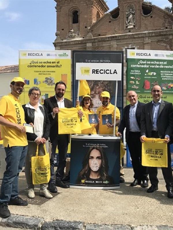 Alcalá de Guadaíra (Sevilla) y la Mancomunidad de Los Alcores inician la campaña 'Recicla y Respira'