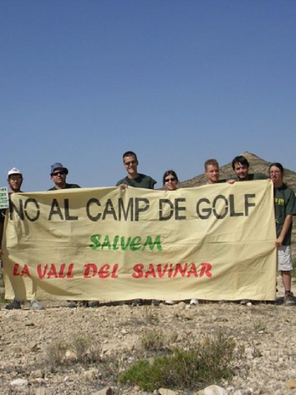 Sant Vicent del Raspeig. Otro año de reforestación reivindicativa en el Sabinar