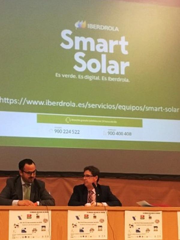 Iberdrola presenta en Vitigudino (Salamanca) una instalación para generar energía solar fotovoltaica