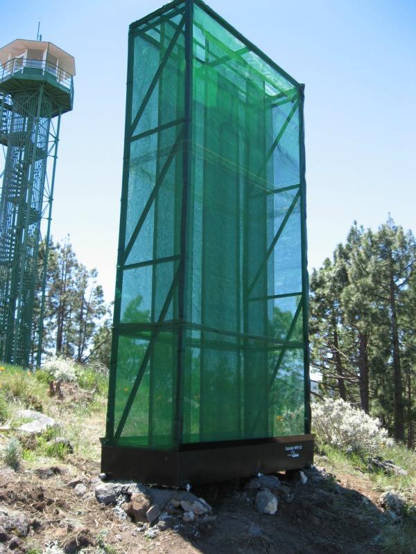 Tecnología verde para recolectar agua en el desierto