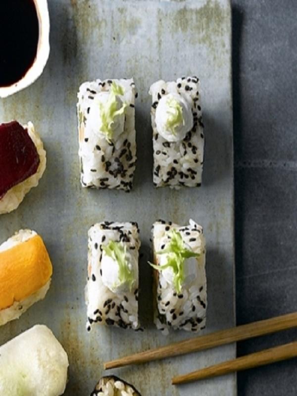 Receta Ecológica recomendada por ECOticias.com: Sushi con vegetales