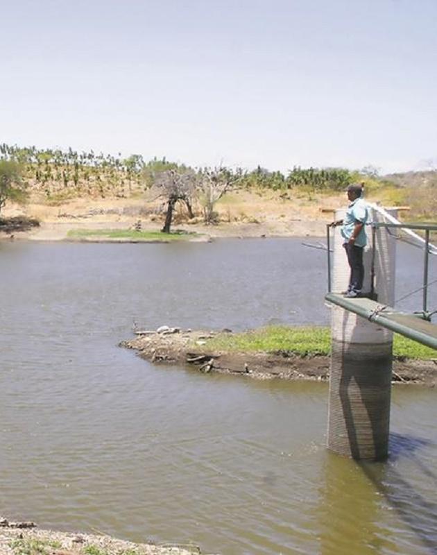 Balsas pequeñas y estanques temporales liberan CO2 a la atmósfera pese a no tener agua