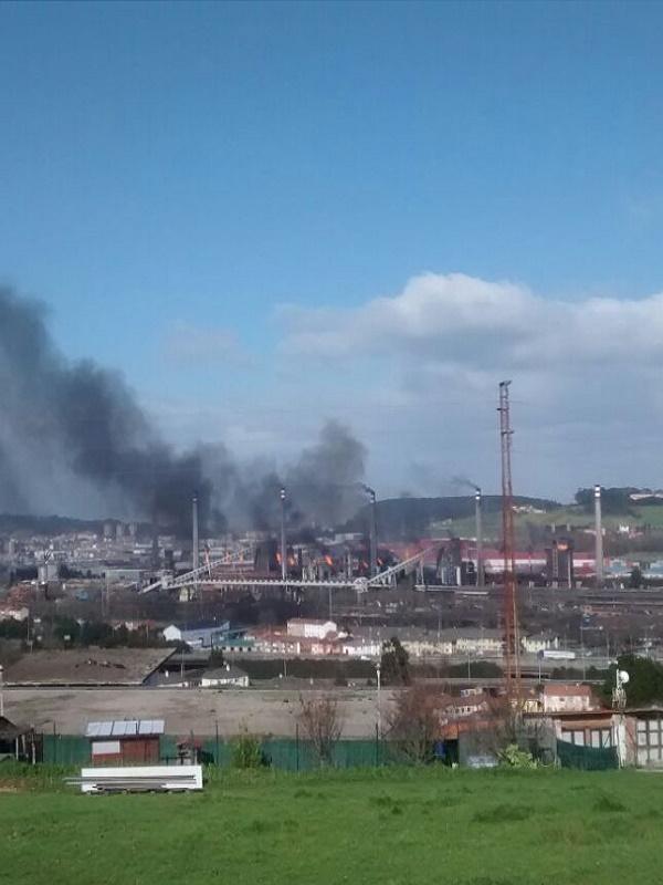 Asturias. Castrillón y gran parte de la comarca en alarma por la contaminación