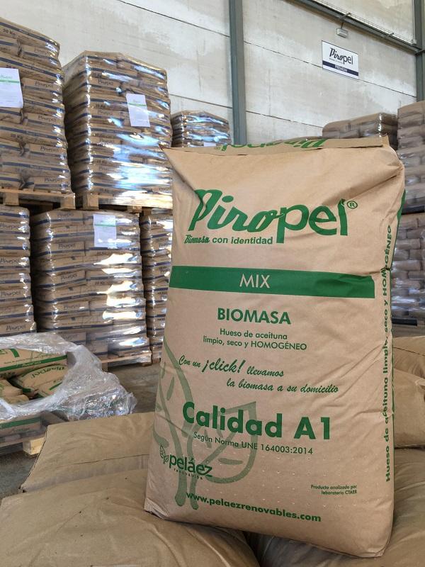 OCU considera Piropel Mix, la mejor biomasa en relación calidad precio