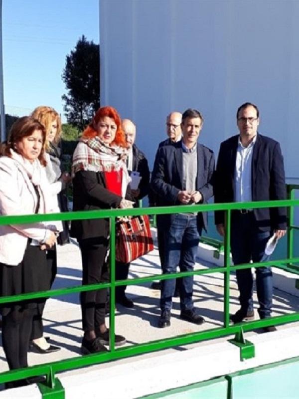 Nuevo punto limpio de recogida de residuos urbanos de Bornos (Cádiz)