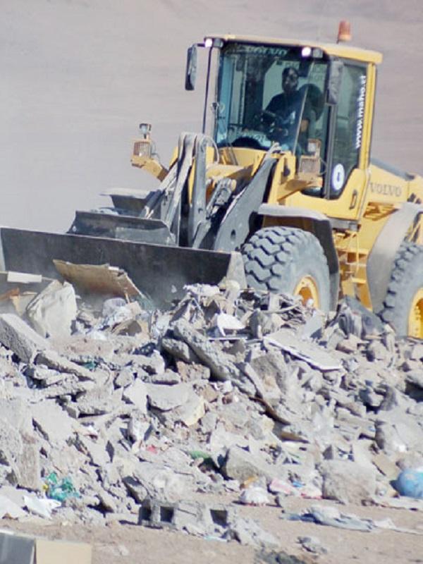 La Rioja concederá ayudas a los municipios para fomentar la gestión de residuos de construcción