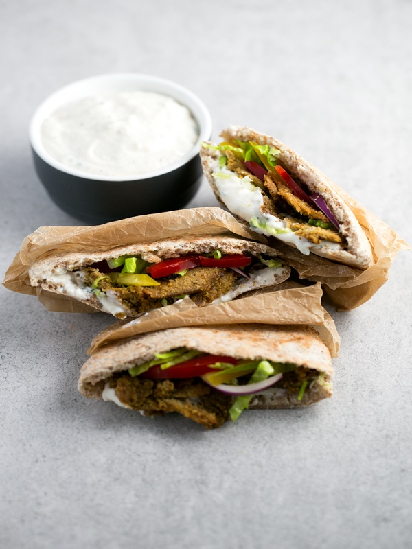 Kebab para veganos