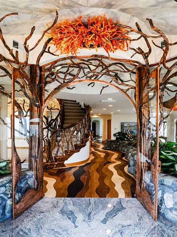 La casa inspirada en la naturaleza más cara del Planeta