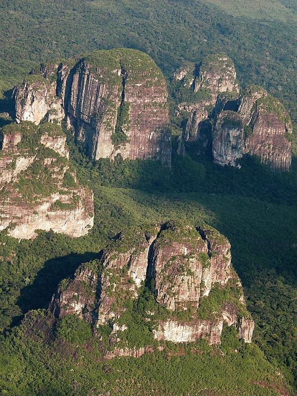 El Parque Natural Chiribiquete, declarado Patrimonio de la Humanidad