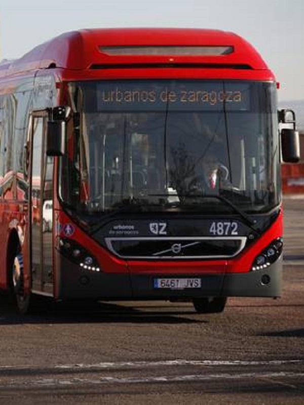 El Ayuntamiento de Zaragoza comprará cuatro buses eléctricos en 2019 que se sumarán a los 42 híbridos en circulación