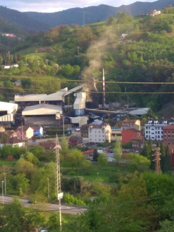El Principado de Asturias no sanciona a las empresas que contaminan el aire