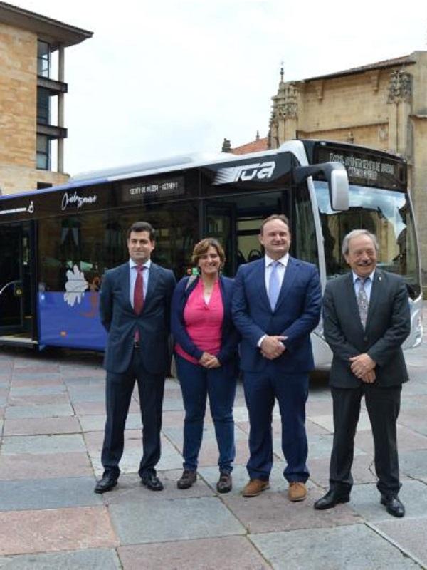 Oviedo incorpora el primer vehículo híbrido a su flota de autobuses públicos