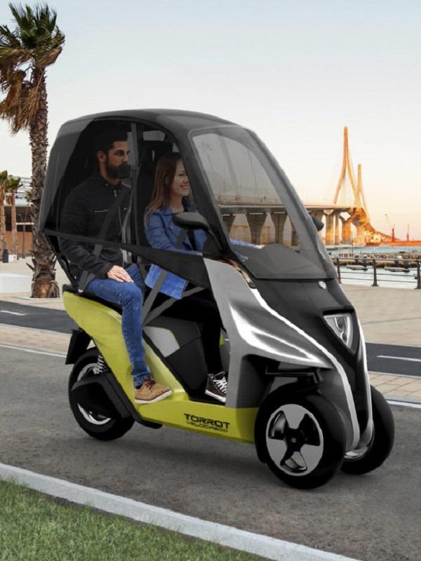 ¿Conoces el velocípedo eléctrico Cargo?