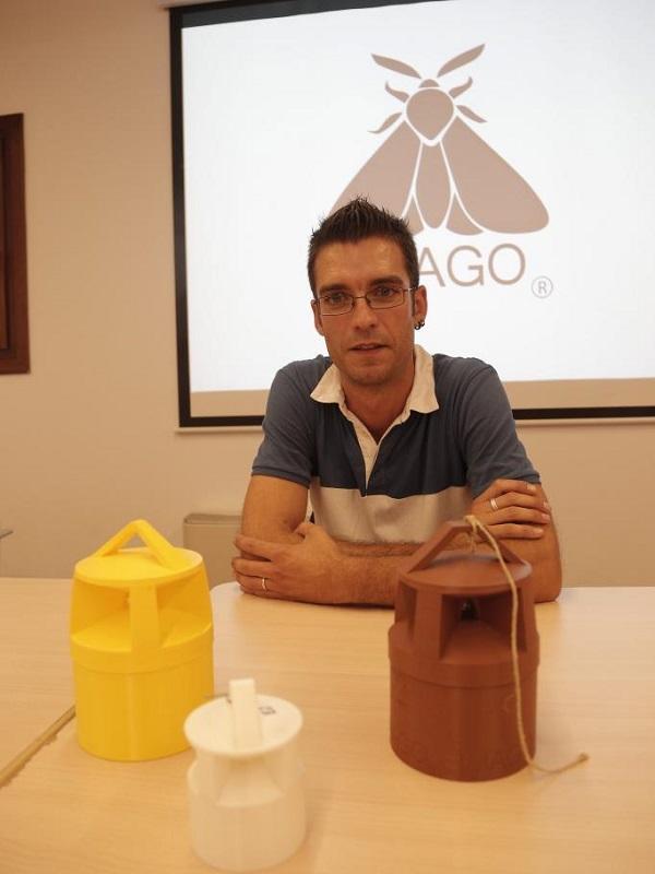 Innovadora trampa biodegradable destinada al control de plagas de insectos