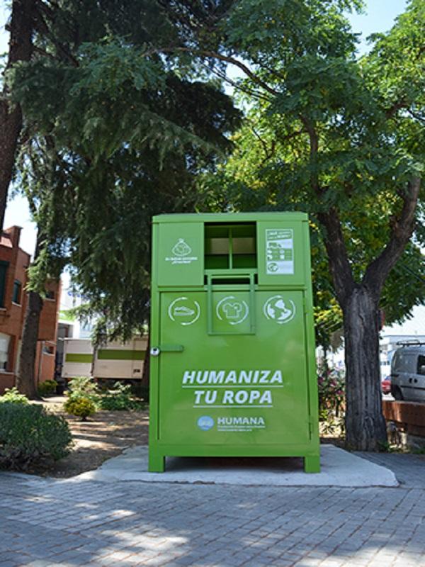 Humana da una nueva vida a 1,7 millones de prendas recogidas en Galicia