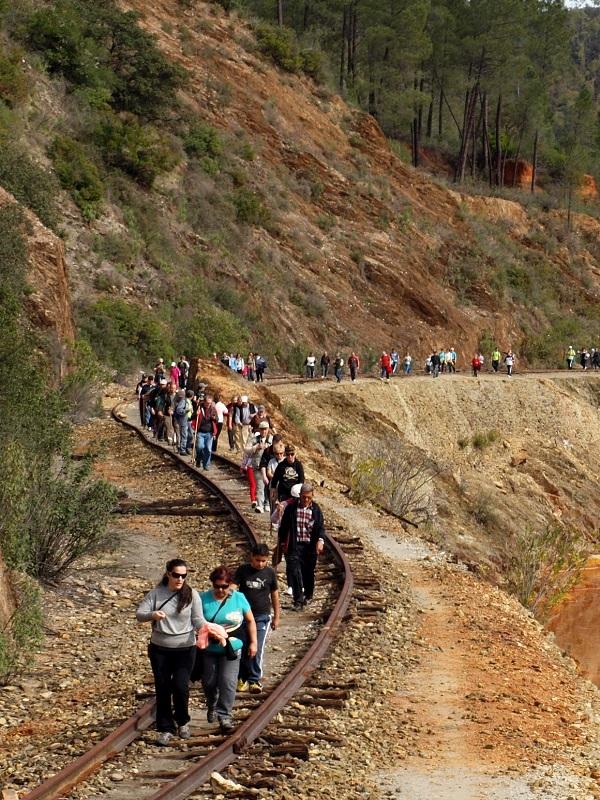 Huelva arranca las obras en el camino natural del río Tinto para realizar una ruta ciclable y de senderismo