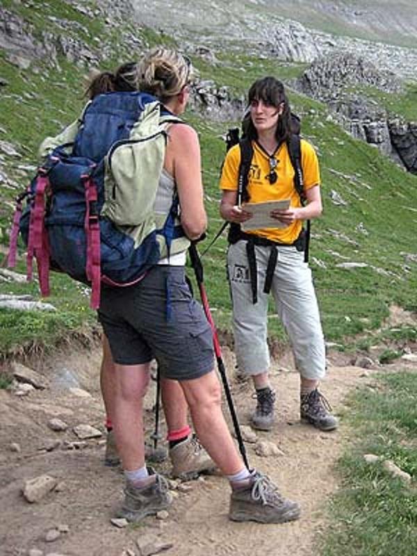 Aragón mejorará la seguridad de los excursionistas