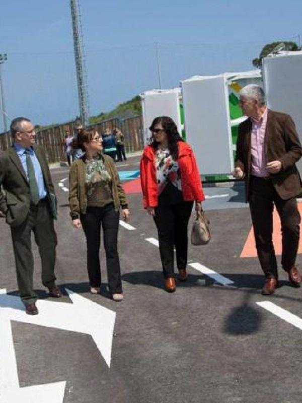 Asturias. Cogersa pone en marcha el punto limpio de Tineo