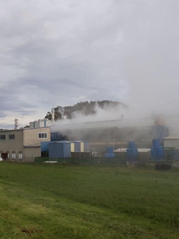 Asturias. Los vecinos del entorno del póligono de Macua hartos de la contaminación
