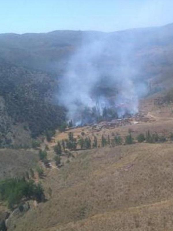 Cazado el presunto autor del incendio en un paraje de Baza (Granada)
