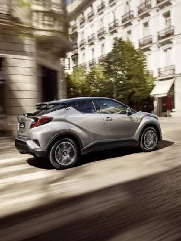 Ventas al alza del Toyota C-HR hybrid en Europa